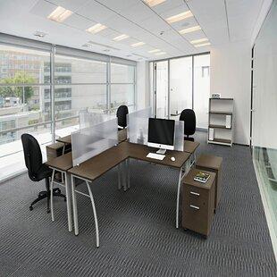 Beatriz L-Shape Executive Desk by Latitude Run