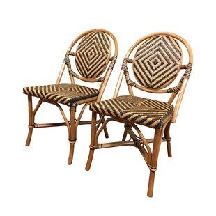 Best Reviews Safari Side Chair (Set of 2) by ElanaMar Designs Reviews (2019) & Buyer's Guide