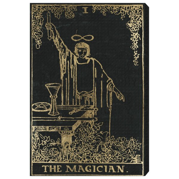 The Art Cabinet The Magician Tarot Graphic Art on Wrapped Canvas
