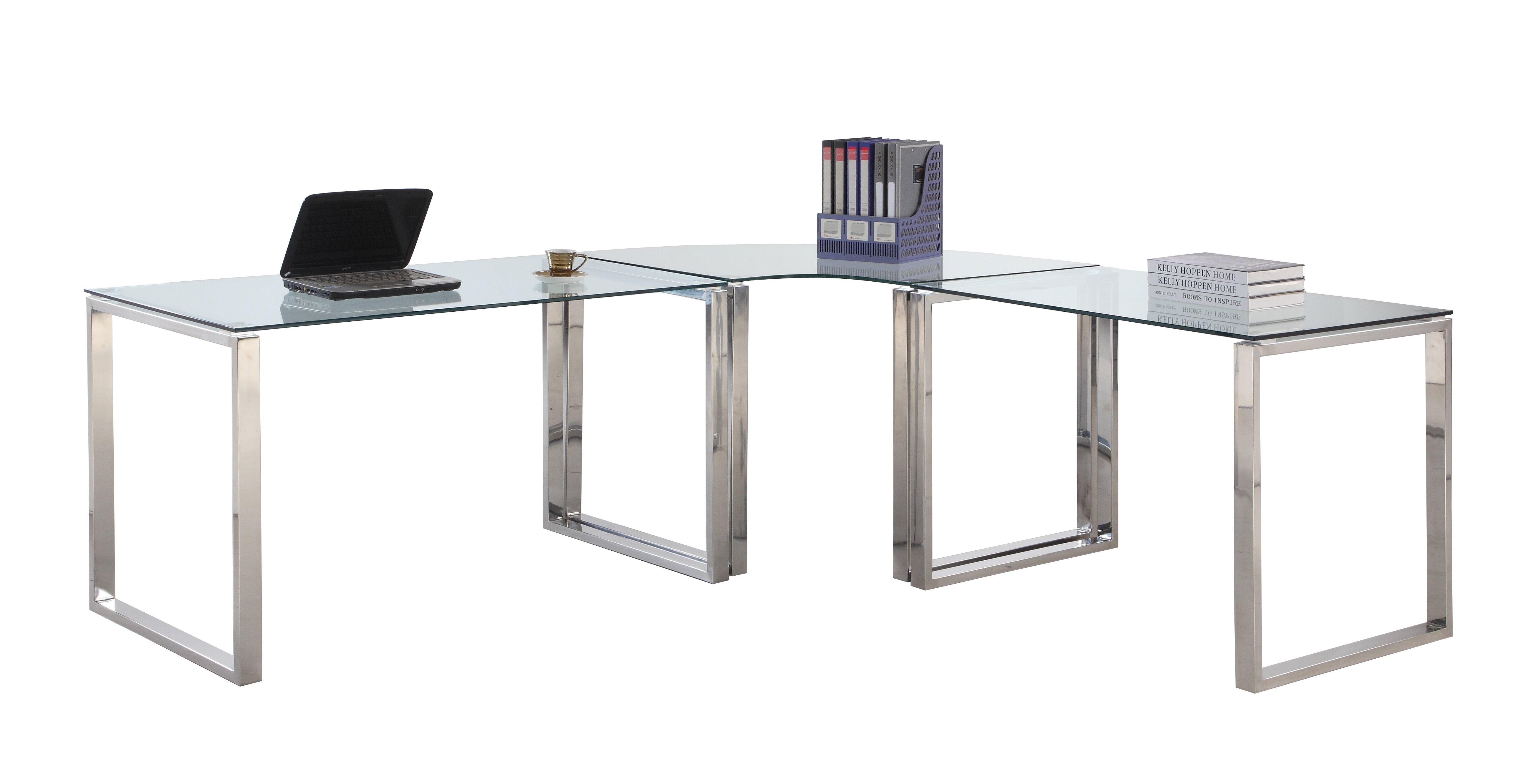 Darleene l shape writing desk allmodern