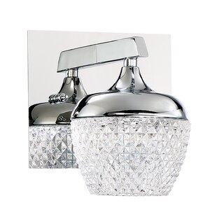 Villegas 1-Light LED Bath Sconce by Latitude Run