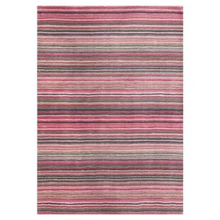 Carter Hand Tufted Wool Pink Rug
