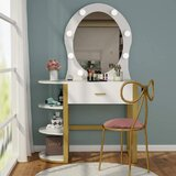Orofino Vanity with Mirror by Everly Quinn