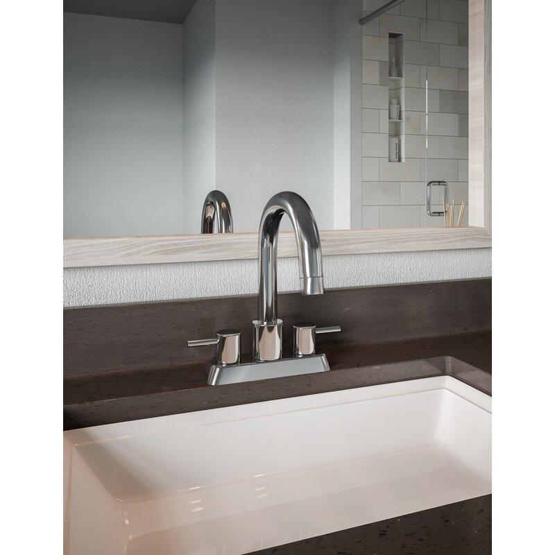 Ebern Designs Aspasia Centerset Bathroom Faucet With Drain Assembly Reviews Wayfair