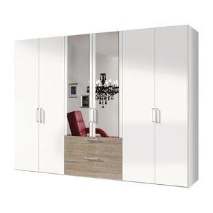 Ammiras 3 Door Wardrobe By Ebern Designs