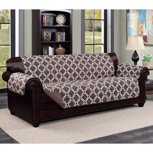 Compare prices Macy Box Cushion Sofa Slipcover by Kashi Home Reviews (2019) & Buyer's Guide