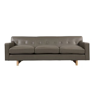 Lomonaco Leather Sofa by Mercury Row Cheap