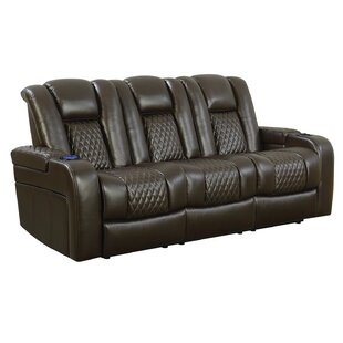 Bela Reclining Power Motion Sofa by Latitude Run Modern
