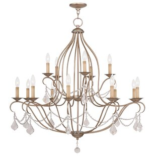 Astoria Grand Bayfront 15-Light Candle Style Chandelier