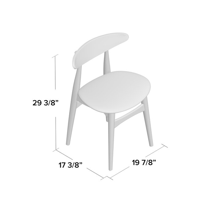 Astounding Gracie Solid Wood Dining Chair Dailytribune Chair Design For Home Dailytribuneorg