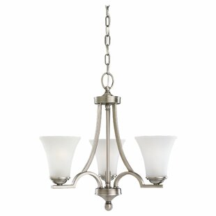 Darby Home Co Bushmills 3-Light Shaded Chandelier