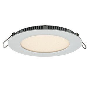 Round Panel LED Recessed Trim