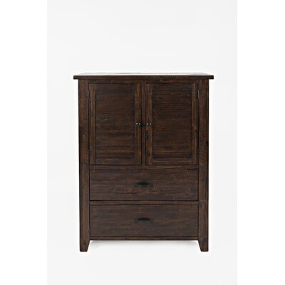 Delma 2 Drawer Combo Dresser Loon Peak