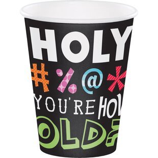 Holy Bleep Paper Disposable Cup (Set of 24)