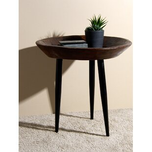 Maymie Wood Parat Tray Table
