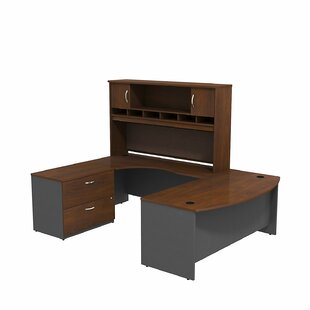 Bush Business Furniture Series C U Shaped Desk Office Suite
