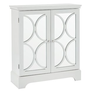 Melfa Mirrored Accent Cabinet by House of Hampton