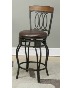 Turbeville 24 Swivel Bar Stool (Set of 2)