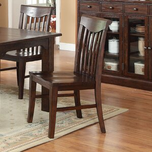 Gettysburg Slat Solid Wood Dining Chair (Set of 2) by ECI Furniture