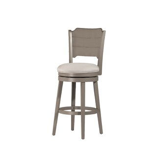 Kinsey 30'' Swivel Bar Stool Rosecliff Heights