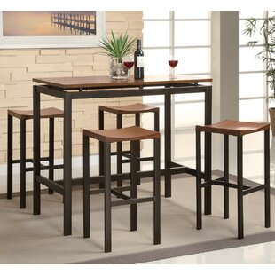 Kitchen Bar Table Sets Pub tables bistro sets youll love wayfair swigart 5 piece pub table set workwithnaturefo