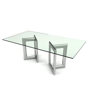 Frieda Rectangular Dining Table by Orren Ellis