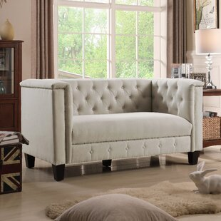 Willa Arlo Interiors Broughtonville Chesterfield Loveseat