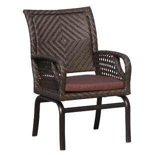 Largo Patio Dining Chair With Cushion by World Wide Wicker No Copoun