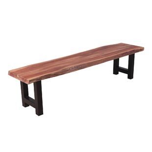 Gagne Wood Bench By Williston Forge