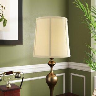 Extra large drum shade wayfair 12 solid linen drum lamp shade aloadofball Choice Image