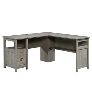 Doraville L-Shape Executive Desk by Greyleigh Sale