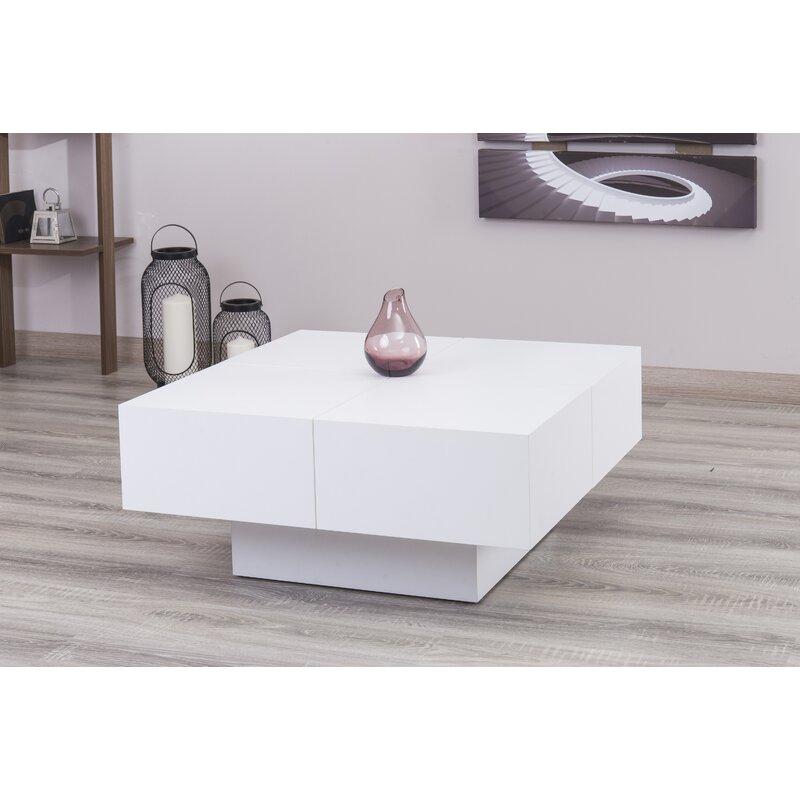 Square Coffee Table By Latitude Run: Latitude Run Pickrell Modern Coffee Table