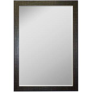 Scotch Plaid Black Wall Mirror BySecond Look Mirrors