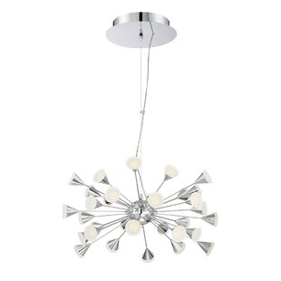 Eurofase Esplo 32-Light LED Sputnik Chandelier