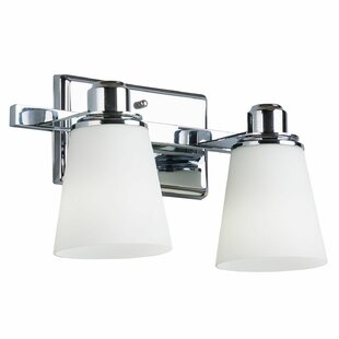 Latitude Run Simkins 2-Light Vanity Light
