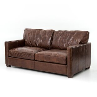 Lark Leather Sofa by Design Tree Home