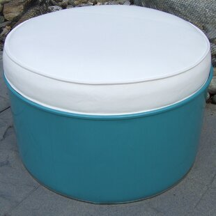 Ottoman with Cushion by Drum Works Furniture