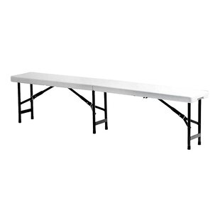 Lankin Plastic Bench By Sol 72 Outdoor