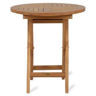 Great Deals Quickep Folding Teak  Bistro Table