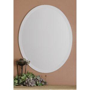 Frameless Vanity Oval Wall Mirror