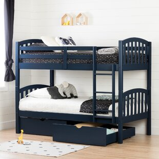 Ulysses Bunk Bed With Storage Drawers by South Shore Cool