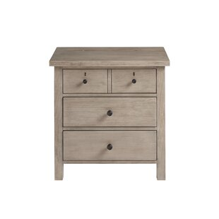 Reichel 3 Drawer Nightstand