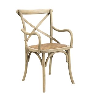 Gracie Oaks Longworth Solid Wood Dining Chair