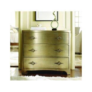 Hooker Furniture Sanctuary 3 Drawer Shaped Front Dresser