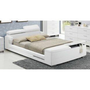 Orren Ellis Stadtfeld King Upholstered Storage Platform Bed