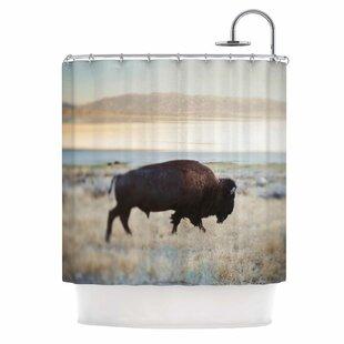 Reviews Buffalo Bill Photography Shower Curtain ByEast Urban Home