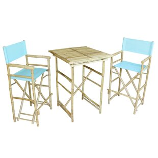 Kalel 3 Piece Pub Table Set by Bay Isle Home