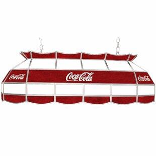 Trademark Global Coca Cola Pool Table Light