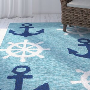 Sereno Traditional Handmade Abstract Indoor / Outdoor Area Rug