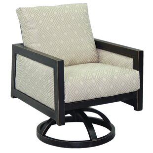 Gold Coast Swivel Rocking Chair with Cushion